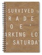 Trader Joe's Parking Lot Spiral Notebook