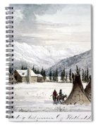 Trading Outpost, C1860 Spiral Notebook