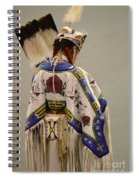 Pow Wow Traditional Dancer 1 Spiral Notebook