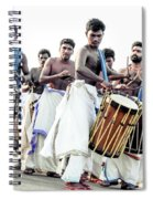 Traditional Drummers Spiral Notebook