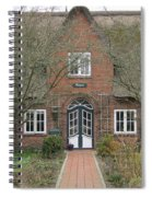 Traditional House 1 Spiral Notebook