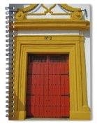 Traditions Of Sevilla Spiral Notebook