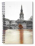 Trafalgar Square Fountain London 3b Spiral Notebook