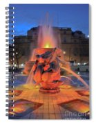 Trafalgar Square Fountain Spiral Notebook