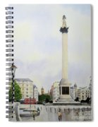 Trafalgar Square London Spiral Notebook