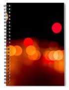 Traffic Lights Number 5 Spiral Notebook