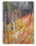 Tragedy Of Loneliness Spiral Notebook