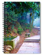 Trail In Woods Spiral Notebook