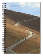 Trail Ridge Road Rocky Mountain National Park Spiral Notebook