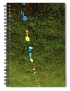 Trail To The Sand Spiral Notebook
