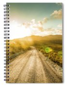 Trail To Trial Spiral Notebook