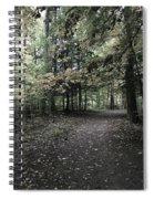 Trail Walking  Spiral Notebook