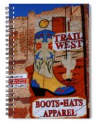 Trail West Mural Spiral Notebook