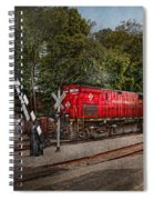 Train - Diesel - Look Out For The Locomotive  Spiral Notebook