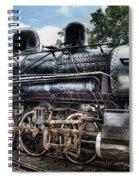Train - Engine - 385 - Baldwin 2-8-0 Consolidation Locomotive Spiral Notebook
