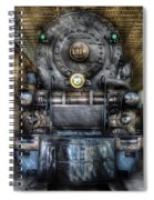 Train - Engine -1218 - Norfolk Western Class A - 1218 - Front View Spiral Notebook