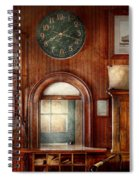 Train - Office - The Ticket Takers Window Spiral Notebook