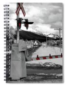 Train A Comin Spiral Notebook
