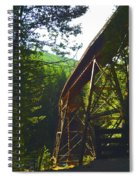 Train Bridge Spiral Notebook