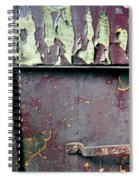 Train Door Spiral Notebook