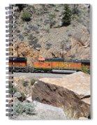 Train Engines Spiral Notebook