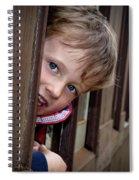 Train Ride Fun Spiral Notebook