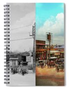 Train Station - Louisville And Nashville Railroad 1912- Side By Spiral Notebook