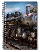 Train - Steam - 385 Fully Restored  Spiral Notebook