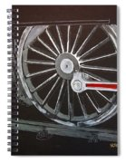 Train Wheels 2 Spiral Notebook