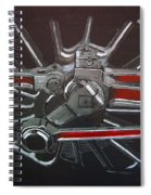 Train Wheels 3 Spiral Notebook