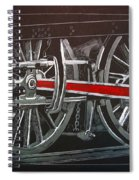 Train Wheels 4 Spiral Notebook