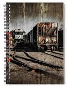 Train Yard Spiral Notebook