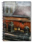 Train - Yard - The Train Yard II Spiral Notebook