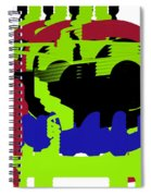 Train Spiral Notebook