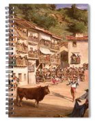 Training Fight In Biscay Spiral Notebook