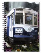 Trains Brookfield Zoo Trolley Car 141 Spiral Notebook