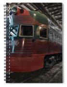 Trains North Shore Line Electroliner Sc Spiral Notebook