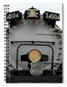 Trains Union Pacific Big Boy 4004 Front End Spiral Notebook