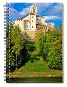 Trakoscan Castle And Green Lake  Spiral Notebook