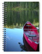 Tranquil Afternoon Spiral Notebook