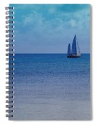 Tranquil Blue Spiral Notebook