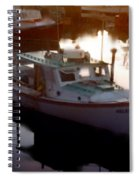 Tranquil Harbor Spiral Notebook