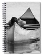 Tranquil On Chautaqua Lake Spiral Notebook
