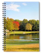 Tranquil Landscape At A Lake 7 Spiral Notebook