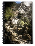 Tranquil Mountain Canyon Spiral Notebook