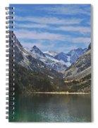 Tranquil Mountain Lake Spiral Notebook