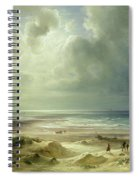 Tranquil Sea Spiral Notebook