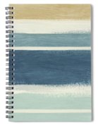 Tranquil Stripes- Art By Linda Woods Spiral Notebook