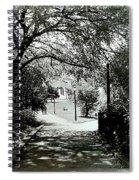 Tranquil Walk Spiral Notebook