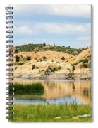 Tranquil Willow Lake Spiral Notebook